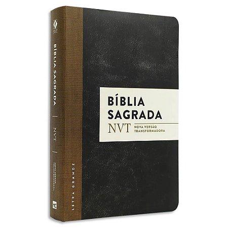 Bíblia NVT Letra Grande com Plano de Leitura