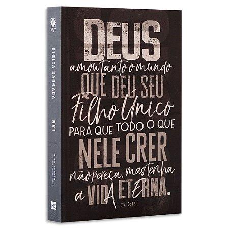Bíblia NVT João 3.16 Chumbo