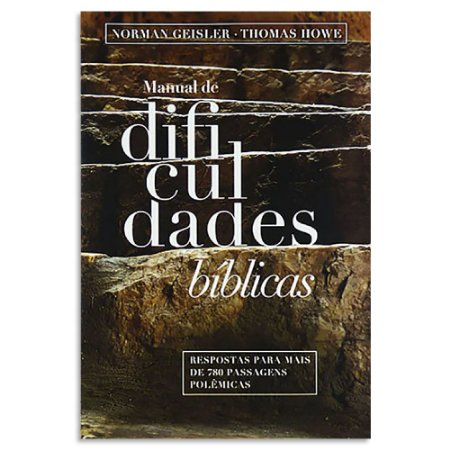 Manual de Dificuldades Bíblicas