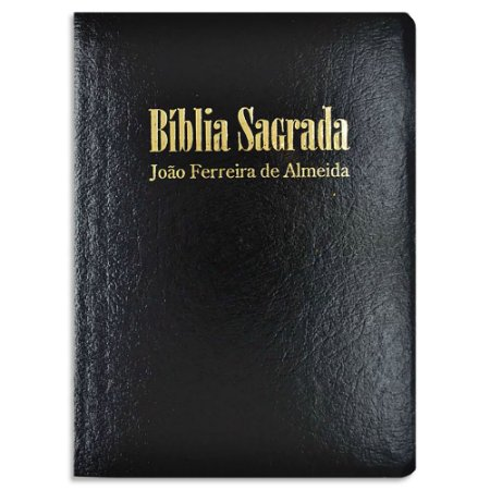 Bíblia João Ferreira de Almeida Letra Grande RC Preta