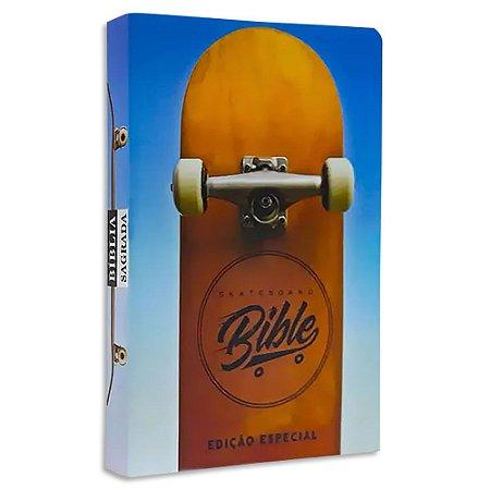 Bíblia Jovem Skateboard NVI capa flexível