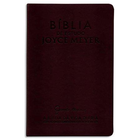 Bíblia de Estudo Joyce Meyer Bordo
