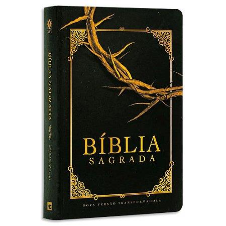 Bíblia NVT Letra Grande Soft Touch Coroa de Espinhos