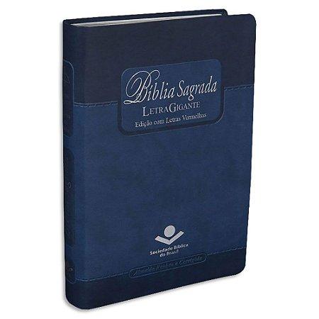 Bíblia Sagrada Letra Gigante Edição com Letras Vermelhas