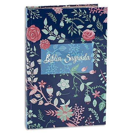 Bíblia Sagrada Almeida Revista e Corrigida Flores