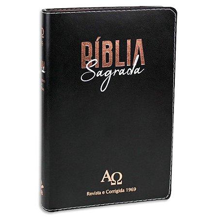 Bíblia Letra Grande Almeida RC 1969 Preta