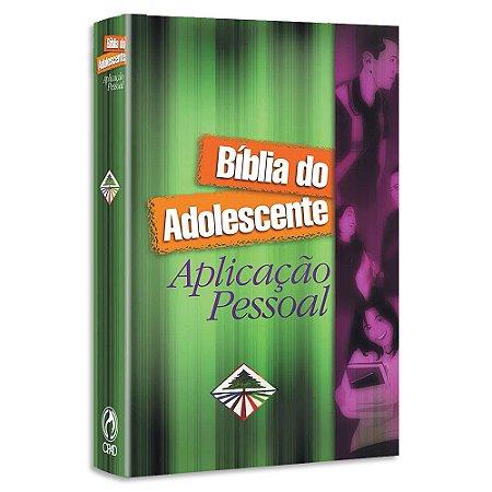 Bíblia do Adolescente Aplicação Pessoal NTLH
