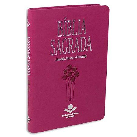 Bíblia Sagrada ARC Pink Média