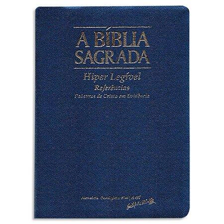Bíblia ACF Letra ExtraGigante Azul