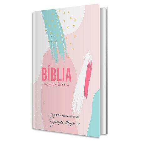 Bíblia de Estudo Joyce Meyer capa dura Abstrata