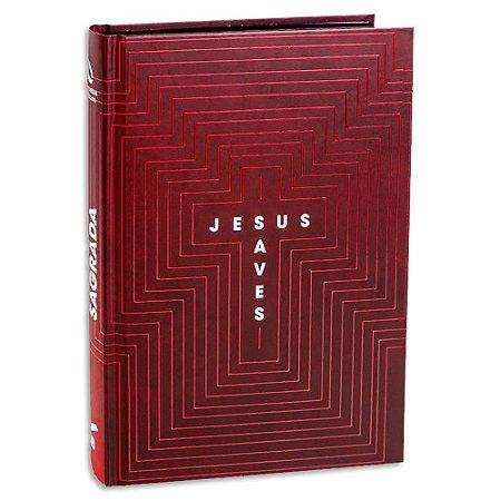 Bíblia NAA Letra Grande Jesus Saves