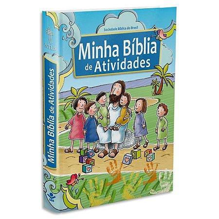 Bíblia Infantil Minha Bíblia de Atividades