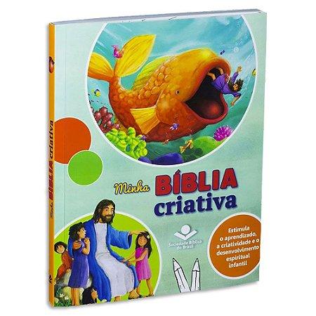 Bíblia Infantil Minha Bíblia Criativa
