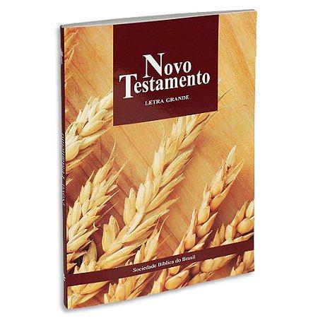 Bíblia Novo Testamento NTLH Letra Grande