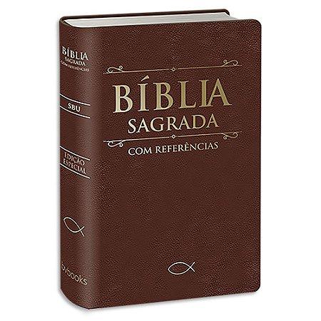 Bíblia Sagrada com Referências Marrom Edição Especial
