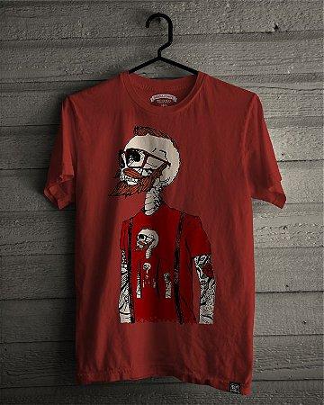 Camiseta T-Shirt Barba Forte Homem Infinito