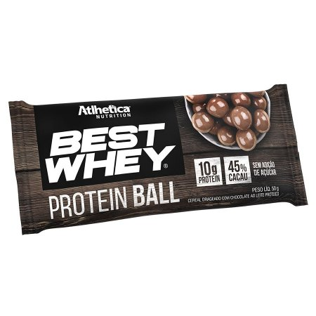 Best Whey Protein Ball (50g) Atlhetica Nutrition