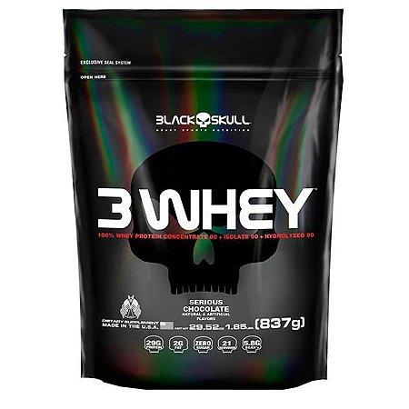 3 Whey SC (837g) Black Skull