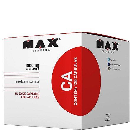 CA Óleo de Cártamo (120Caps) Max Titanium