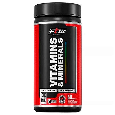 Vitamins & Minerals 60caps - FTW