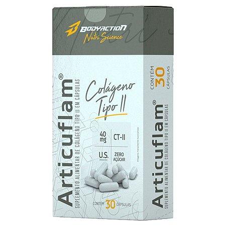Articuflam 30 cápsulas Colágeno Tipo II - BodyAction