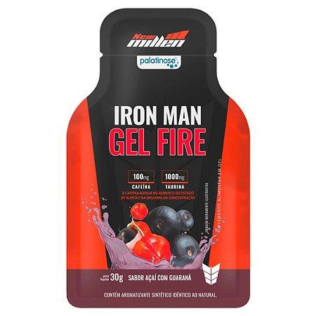 Iron Man Gel Fire (30g/sachê) New Millen