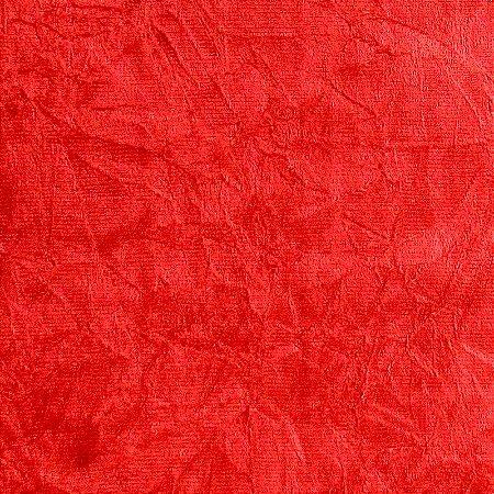 Tecido Suede Amassado vermelho