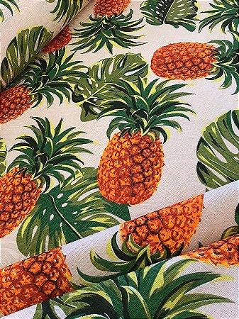 Tecido Jacquard abacaxi Costela De Adão