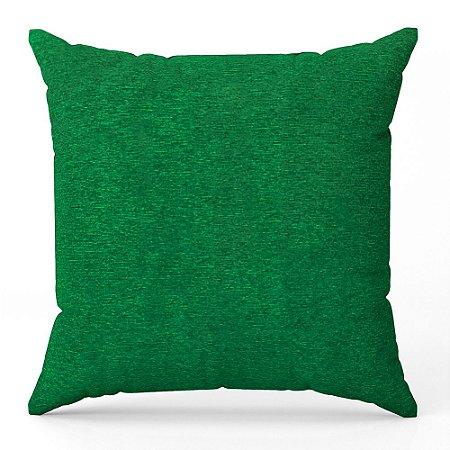 Capa de almofada Jacquard liso verde