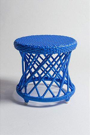 Banquinho Carretel - Azul