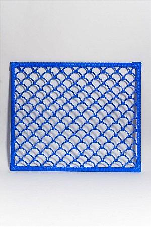 Cabeceira Escama - Azul - 1 Unidade