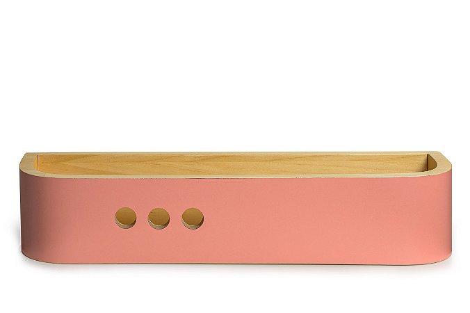 Prateleira Dots - Rosa (Collab Elefante Design)