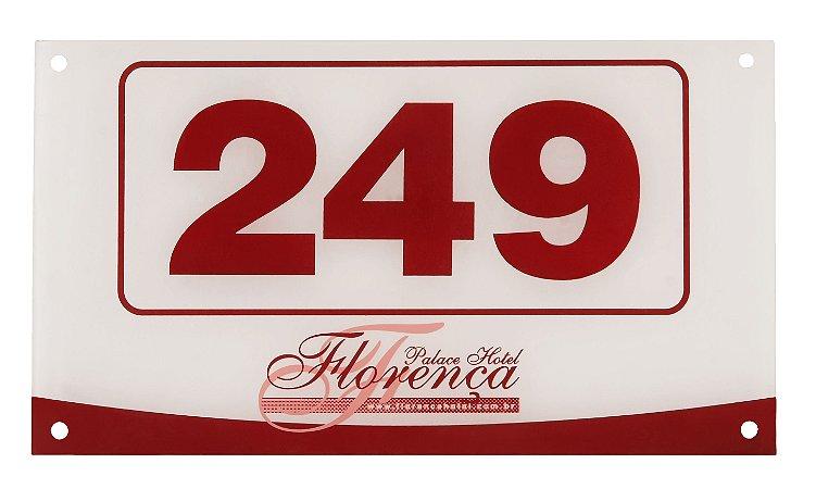 Placa de Porta Personalizados em Acrílico