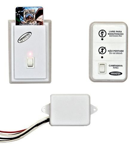 Economizador de Energia para Fechaduras Eletrônicas RFID