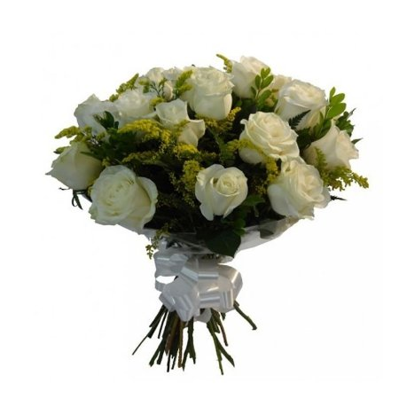 Buquê Rosas Brancas Peace (12)