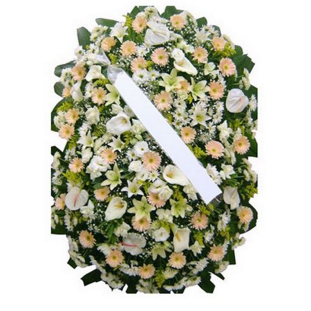 Coroa de Flores para Velório Ternura