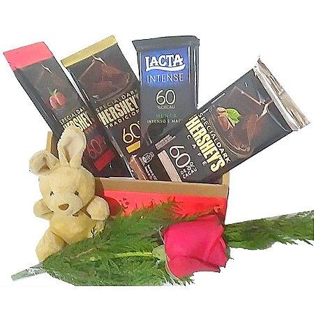 Cesta de Chocolate Chocolatra