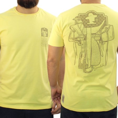 Camiseta Sacudido's Estonada - Amarela