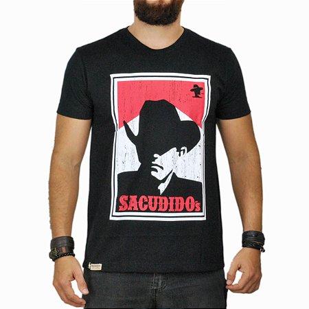 Camiseta Sacudido's Malba - Preto