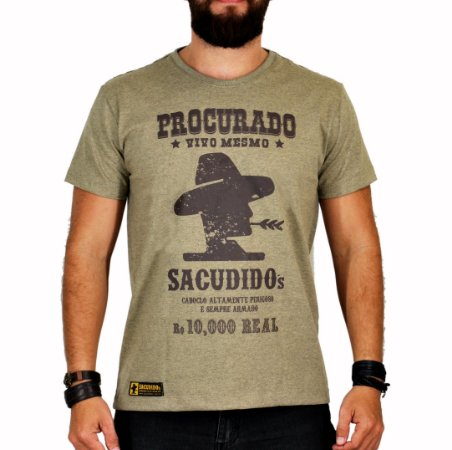 Camiseta Sacudido's Procurado Charuto
