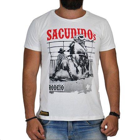 Camiseta Sacudido's Peão de Rodeio Cru
