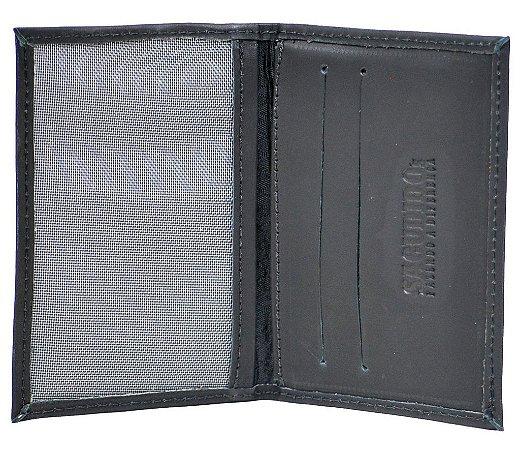 Porta Cartão Sacudido's - Napa Preta