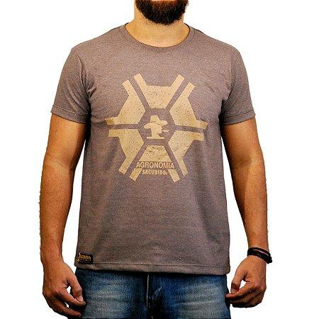 Camiseta Sacudido's - Agronomia - Café Mescla