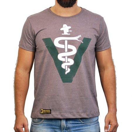 Camiseta Sacudido's - Veterinário - Café Mescla