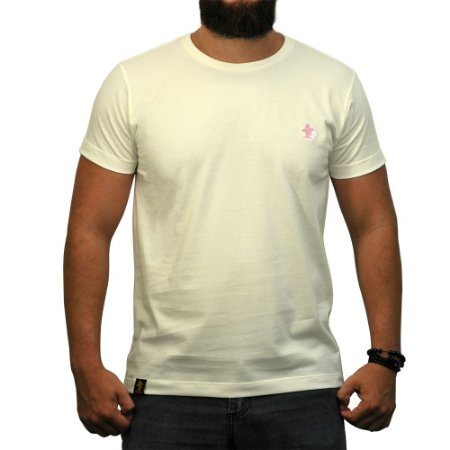 Camiseta Sacudido's Básica - Off White