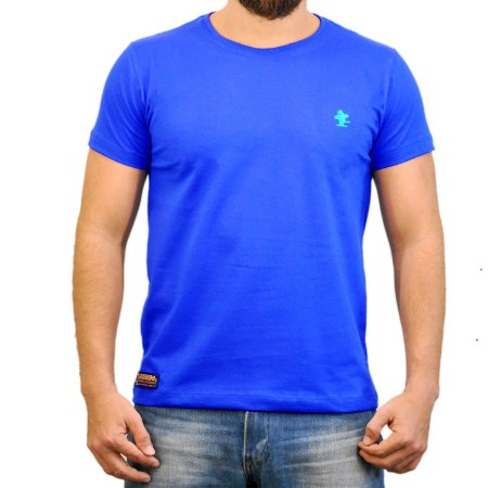 Camiseta Sacudido's Básica - Azul Royal