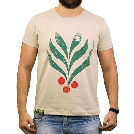 Camiseta Sacudido's - Café - Bege