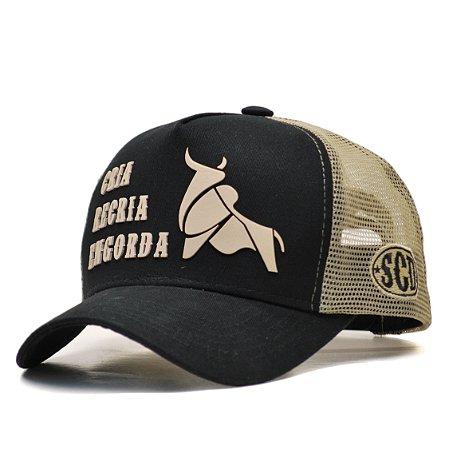 Boné Sacudido's Cria, Recria e Engorda - Preto