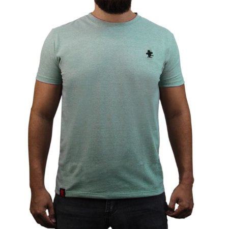 Camiseta Sacudido's - Básica - Verde Mescla