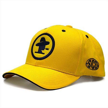 Boné Sacudido's Logo - Amarelo
